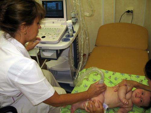УЗИ коленного сустава у детей и грудничков