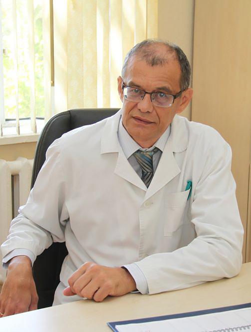 Врач-ревматолог Баймухамедов Чокан Тлеукулович главный врач