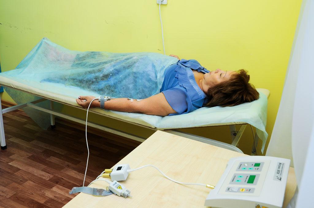 Внутривенное лазерное облучение крови ВЛОК